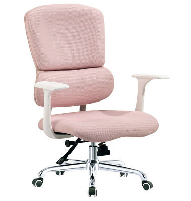 Pink leather office chair pink modern office chair rf o206