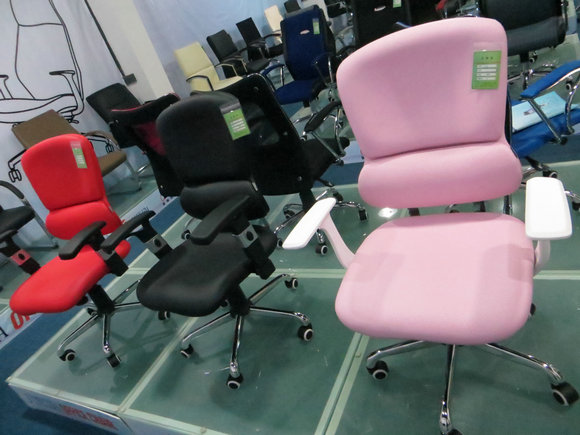 pink modern office chair rf-o206