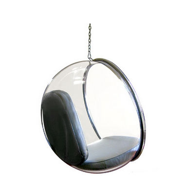 Hanging bubble chair, transparent acrylic ball chair