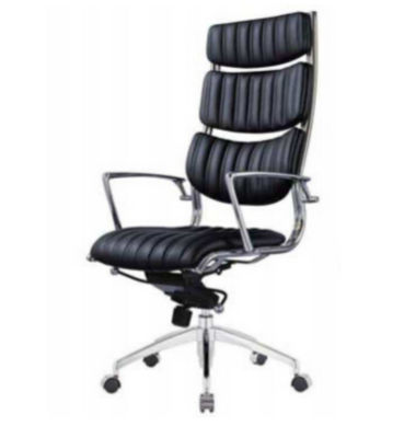 new product massage leather chair with aluminum base leather genuine office chair